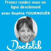Prendre rendez-vous sur Doctolib avec Sophie Tournouër